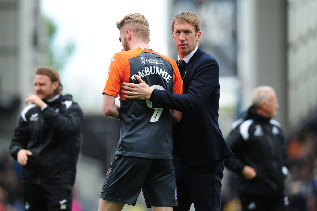 Brighton appoint Graham Potter as manager on four-year deal