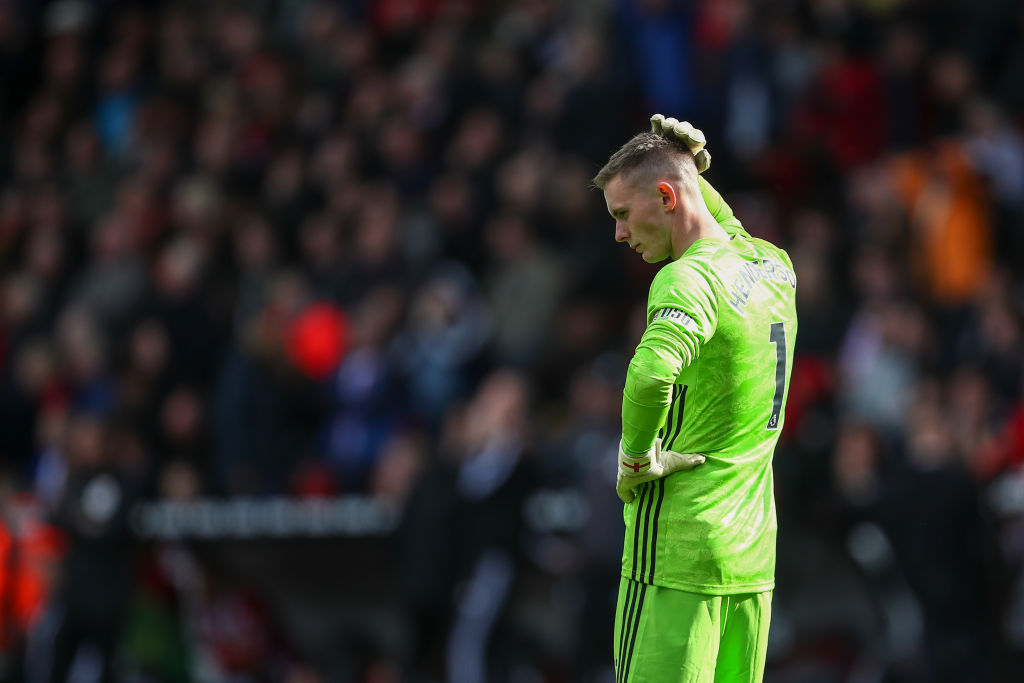 Dean henderson demands more game time from Man United this season