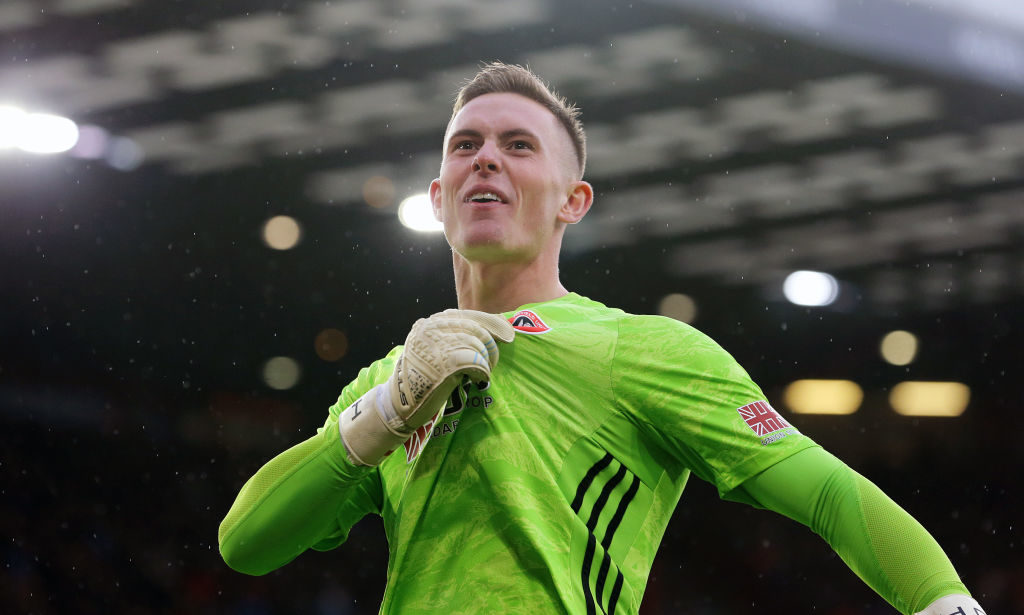 Sheffield United man Dean Henderson called up to England squad