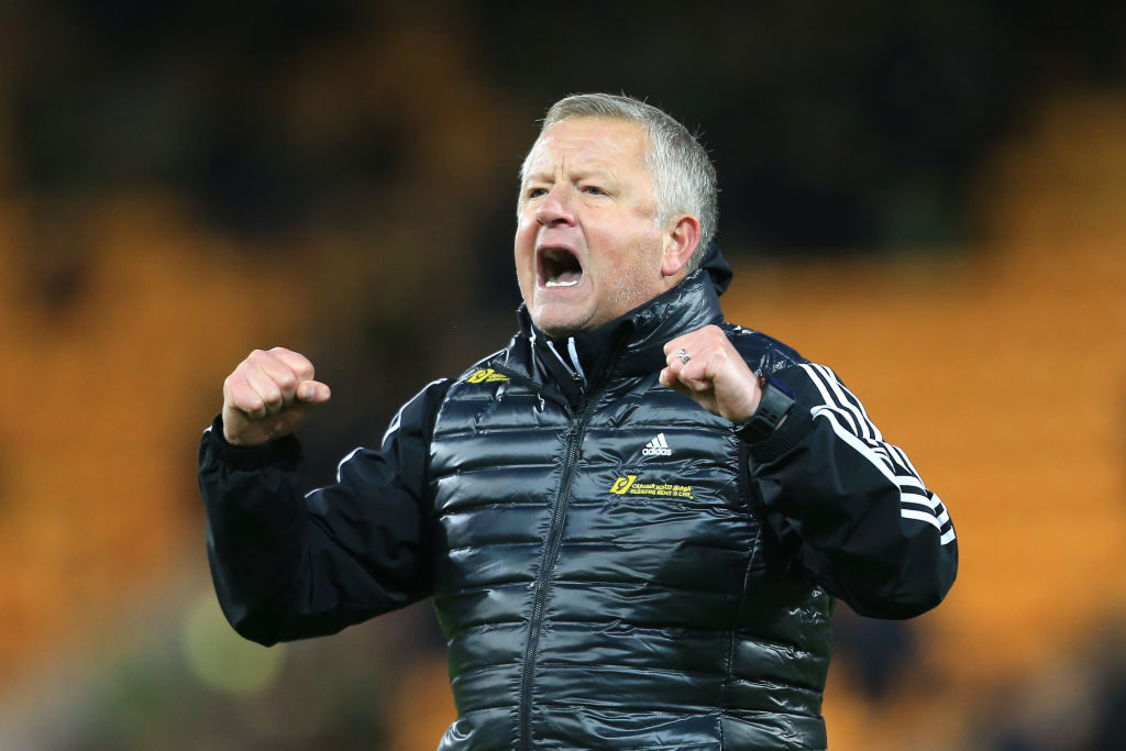 Chris Wilder Europe Blades