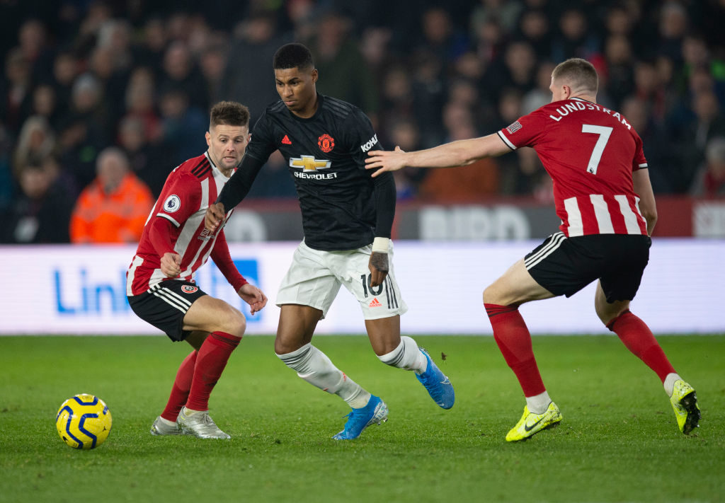 Marcus Rashford has the support of Sheffield United star Aaron Ramsdale
