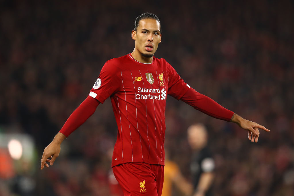 van dijk liverpool sheffield united