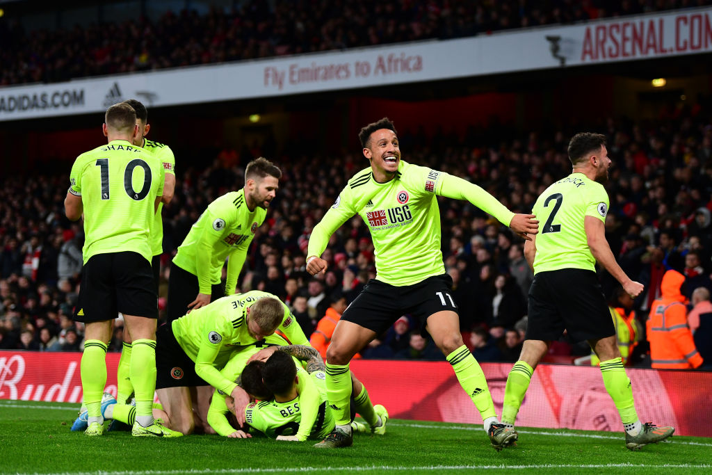 Sheffield United vs. Manchester City - Football Match Report