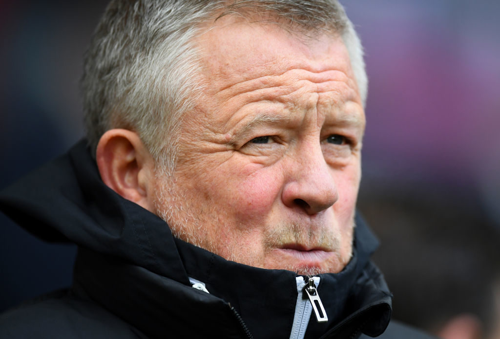 Chris Wilder Champions League