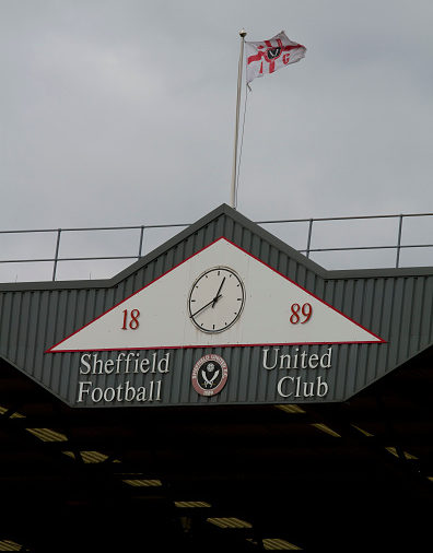 Soccer - Sheffield United Stadium