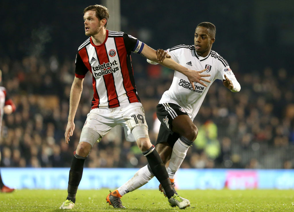 Sessegnon in action for Fulham against Sheffield United