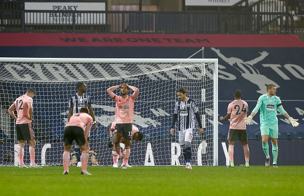 West Bromwich Albion v Sheffield United - Premier League