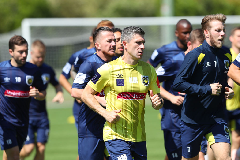 Central Coast Mariners Training Session