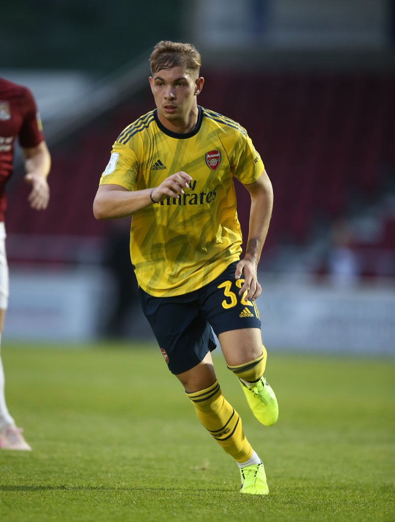 Northampton Town v Arsenal U21 - Leasing.com Trophy